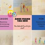 Kids zwischen 10-14 Jahre aus dem Deutsche Jugend aus Russland (DJR) Kinderclub am Frankfurter Berg setzten sich mit dem Konzept Familie kreativ auseinander.